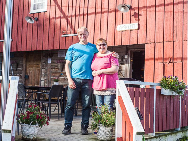 Håkon og Sissel er vertskap på Munkeby herberge