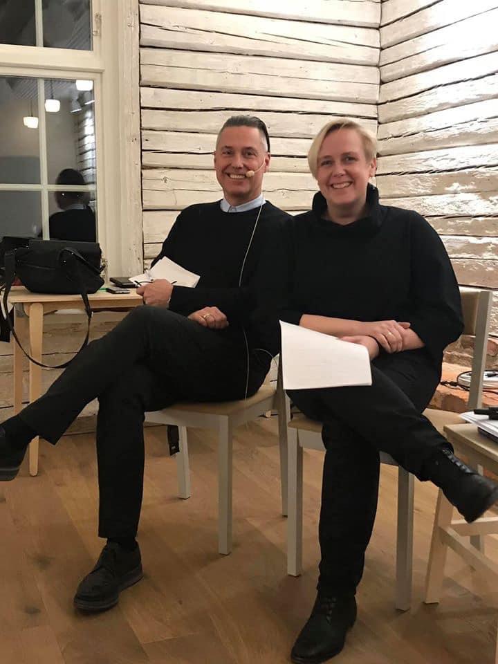 Ted Hesselbom och Anna Lihammer på Selånger